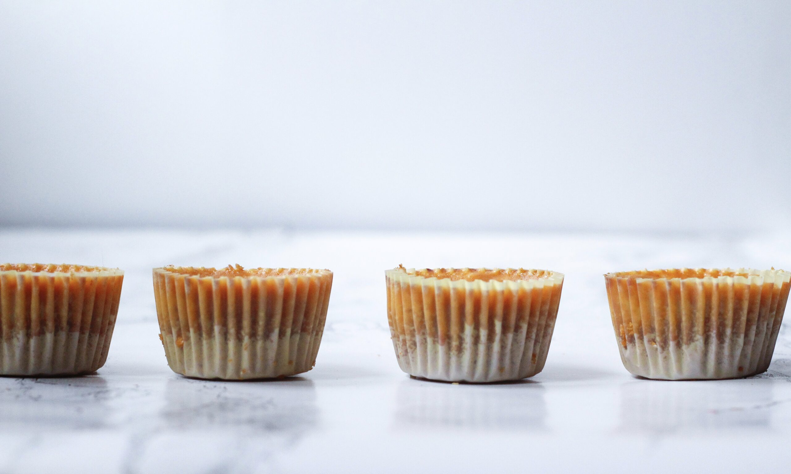 Bite-Sized Pumpkin Pie Cheesecakes