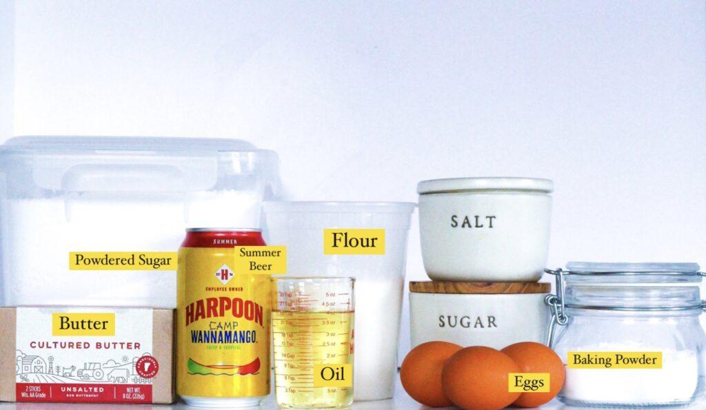 Wannamango Cupcake Ingredients