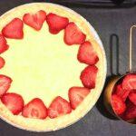 Strawberry basil Balsamic tart