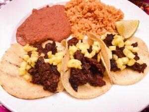 Tacos at Acenar on the Riverwalk