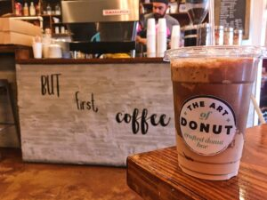 Nutella Latte at the Art of the Donut