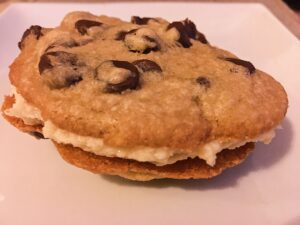 Coffee Milk Cookie Sandwiches