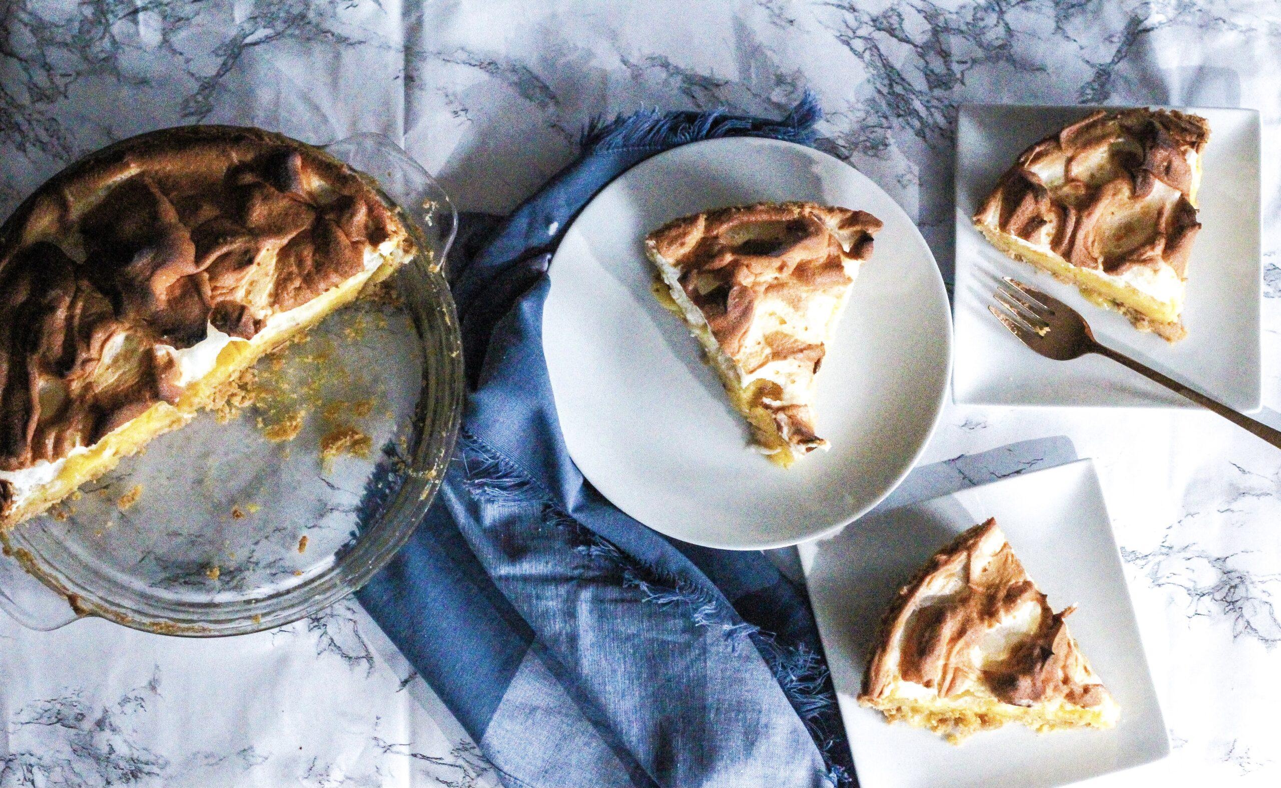 Lavender Lemon Meringue Pie