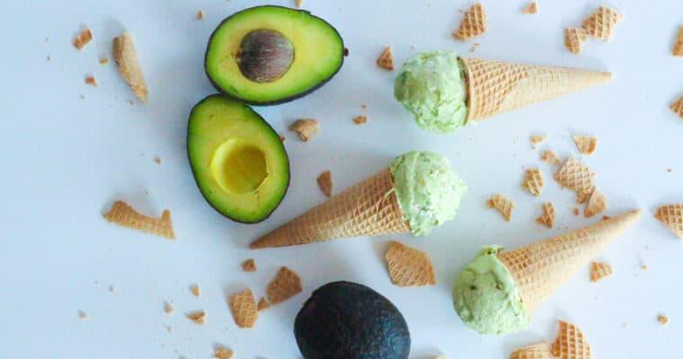 4-Ingredient Avocado Ice Cream