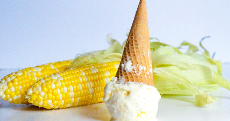 4-Ingredient Sweet Corn Ice Cream