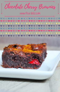 SO EASY!!! Surprise your love with this SPIKED romantic Valentine's Day dessert! Get the recipe at www.flourdeliz.com! #cherry #chocolate #brownie #brownies #chocolatecherry #cherrychocolate #chocolatecherryrecipe #cherryrecipe #cherrychocolaterecipe #chocolaterecipe #brownierecipe #valentinesrecipe #valentinesdayrecipe #chocolaterecipe #bourbon #vodka #bakingwithbooze #boozybaking #boozyrecipe #recipe #easyrecipe #gettherecipe #recipeoftheday #quickandeasy #onebowlrecipe #onebowl #flourdeliz