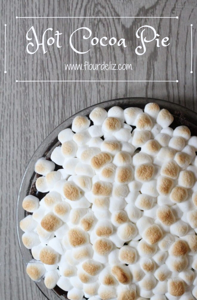 Hot Cocoa Pie Pin