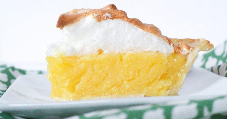 Margarita Meringue Pie