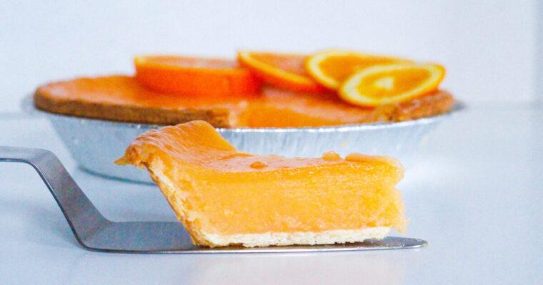 Aperol Spritz Pie