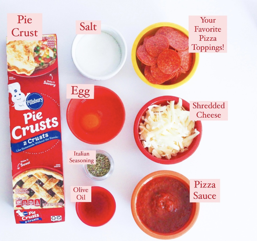 Pizza Poptart Ingredients