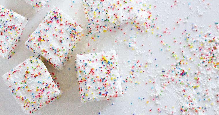 Birthday Marshmallows